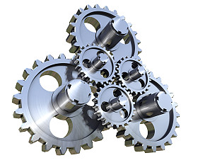 Working gears 155159597